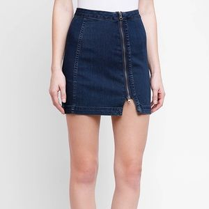 Demon zipper skirt